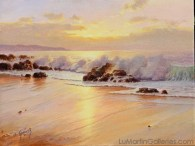 """Last Light""12x16 in. oil/canvas"