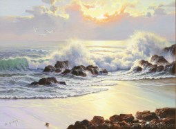 """Rising Tide"" 18x24 in. oil/canvas"
