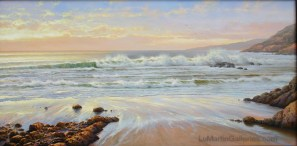 """Big Sur"" 24x48 in. oil on canvas"