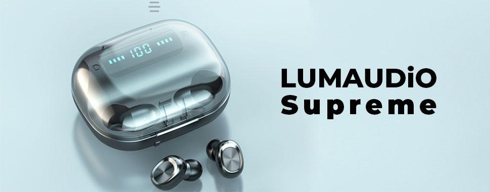 Casti bluetooth Lumaudio Supreme