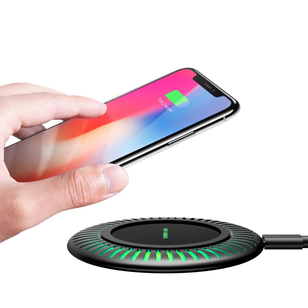 Incarcator wireless Lumaudio Cool cu incarcare rapida