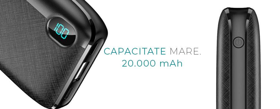 Baterie externa LUMAUDiO miniForce 10.000 mAh