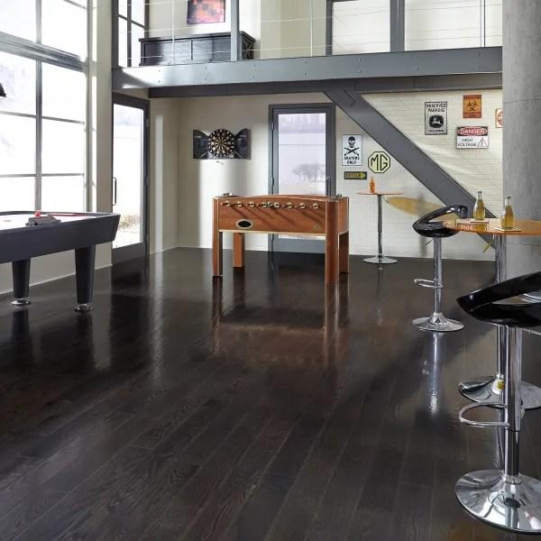 3 4 in x 3 25 in espresso oak solid hardwood flooring