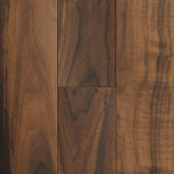 7 in x 47 in elegant wood american walnut porcelain tile