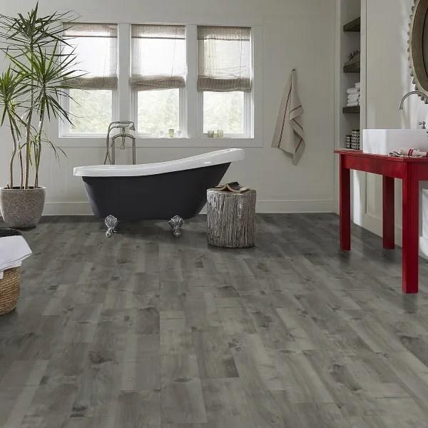 12mm boylan gray 72 hour water resistant laminate flooring 8 in wide x 47 638 in long