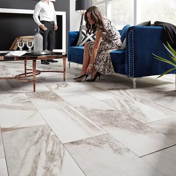 12 in x 24 in costa bella marble porcelain tile