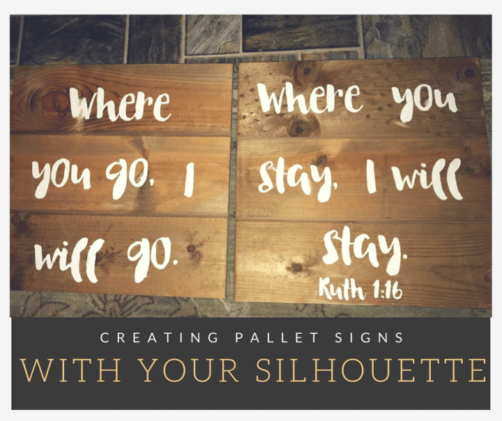 Creating Pallet Signs