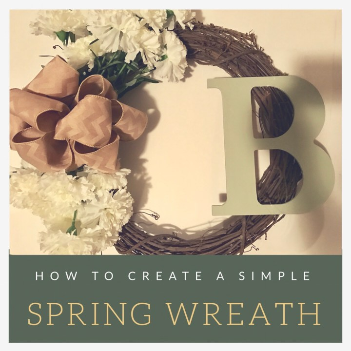 Make it Monday: DIY Spring Wreath