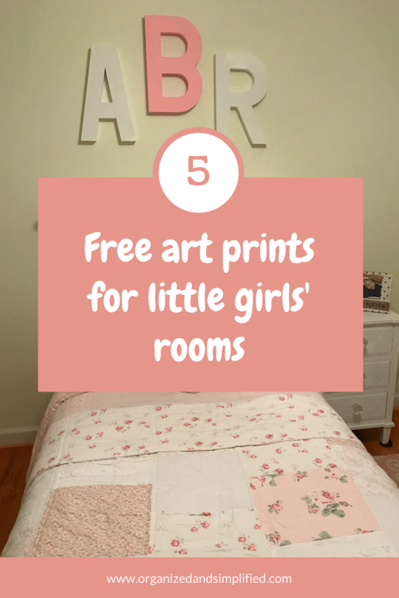free art prints for little girls