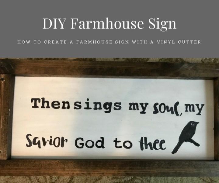 Make it Monday: DIY Farmhouse Sign