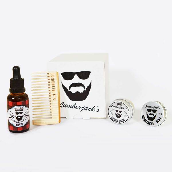 Beard & Mustache care set