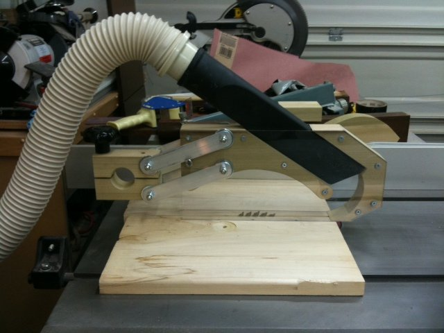 Homemade Table Saw Dust Collector