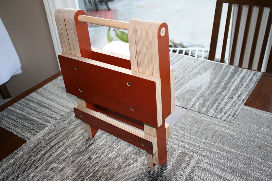 plans for wooden folding step stool