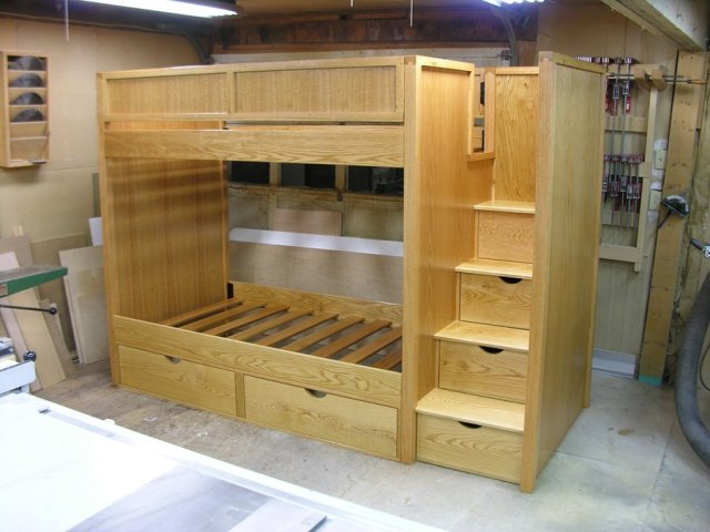 this is a bunk bed that i made for the