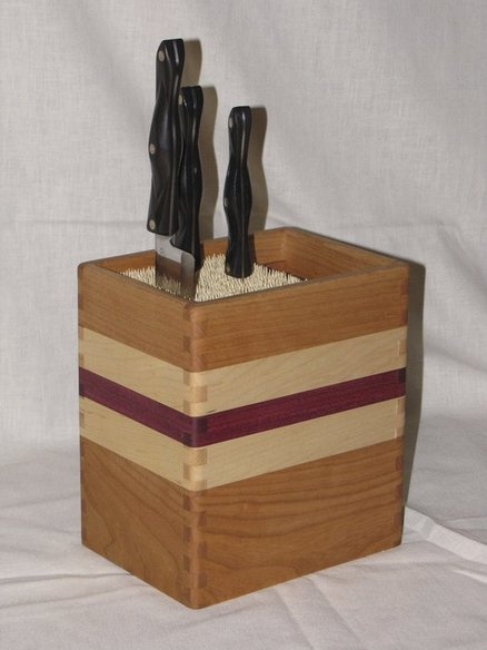 Aaron McCain Knife Block