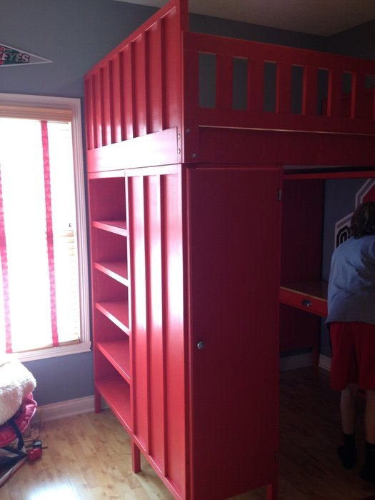 Ohio State Loft Bed By BGW