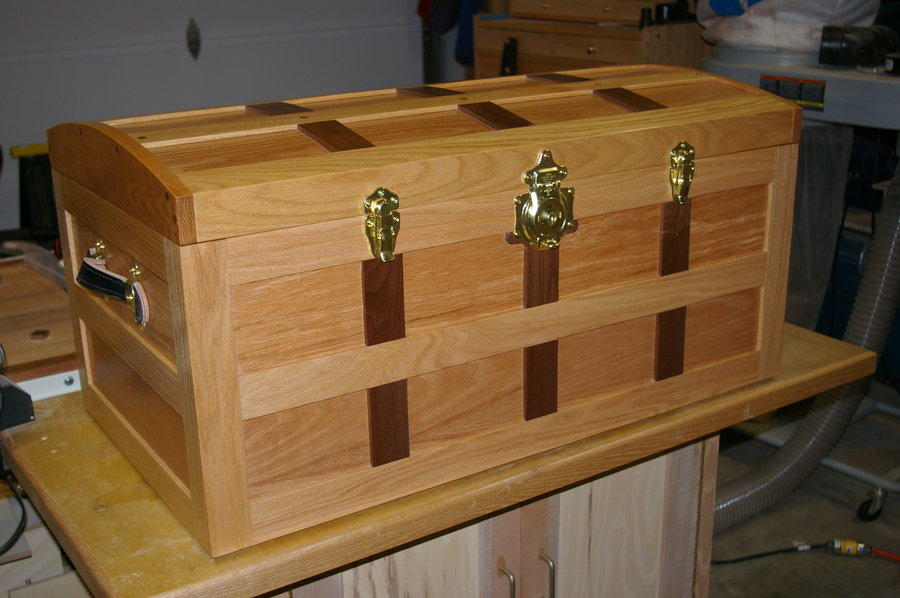 Pdf Download Steamer Trunk Plans Plans Woodworking Wood
