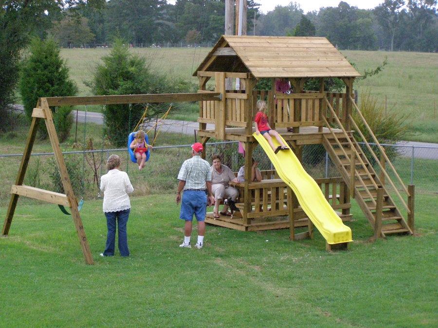 playhouse playset plans