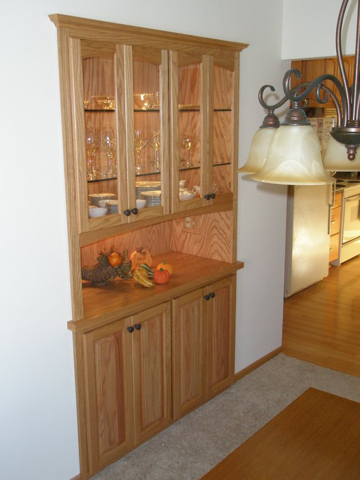 Built In China Hutch Buffet By Kevin Depies