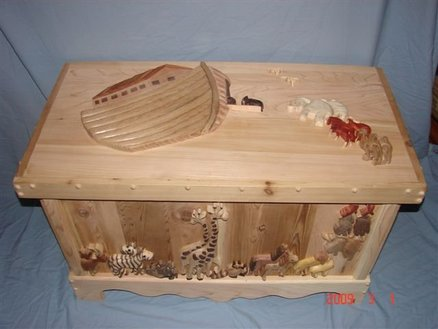 child toy box woodworking plans
