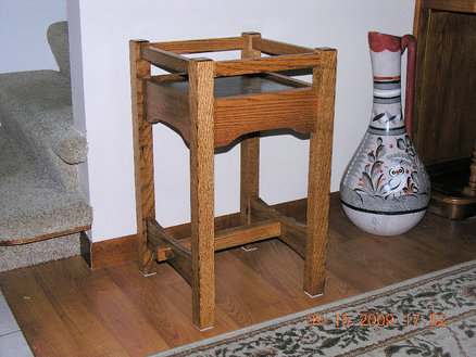 stickley plant stand