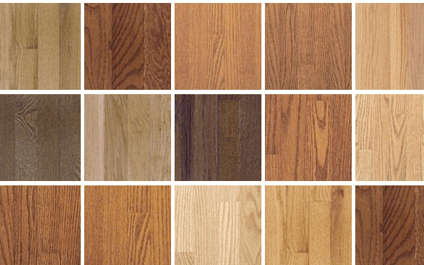 Picture of Popular Hardwood Flooring Species