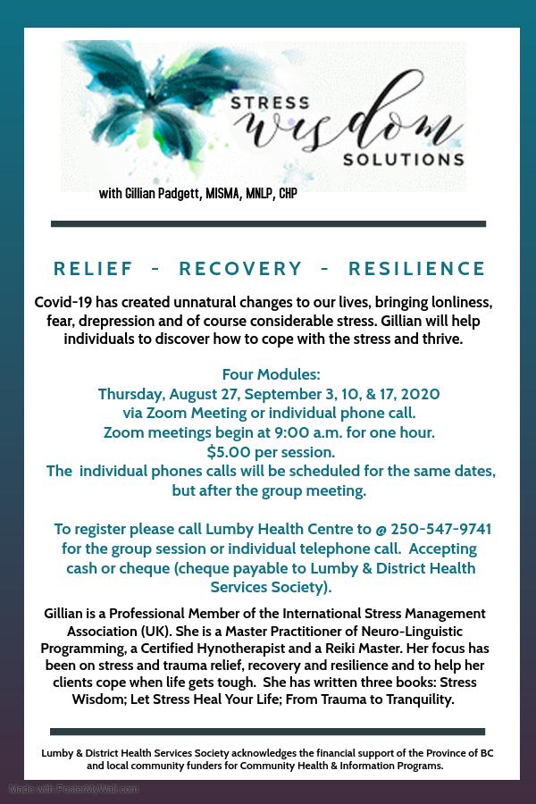 stress, Covid 19, trauma, recovery