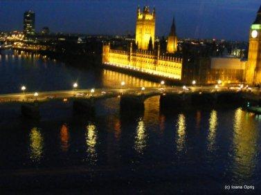 Priveliste din London Eye