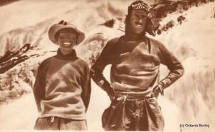 Edmund Hillary și Tenzing Norgay a doua zi după cucerirea Everestului