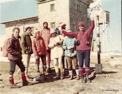 Gașcă de montagniarzi în anii '80