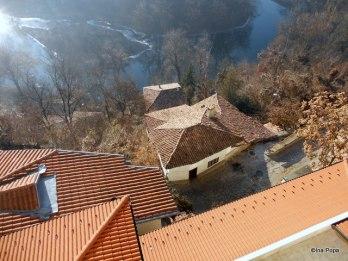 Veliko Tarnovo - vedere din balconul hotelului