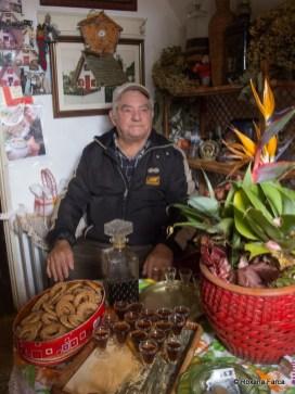 Santana, in casa traditionala