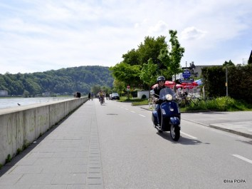 promenada langa Dunare