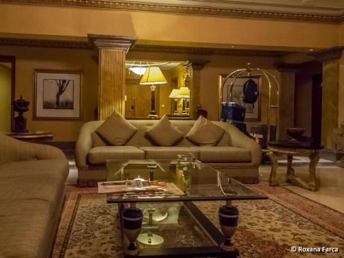 Apartamentul din Grand Hyatt Muscat