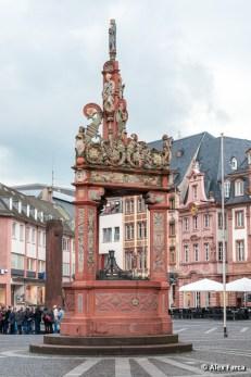 Fantana pietei centrale din Mainz