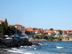 Plaja și orașul vechi