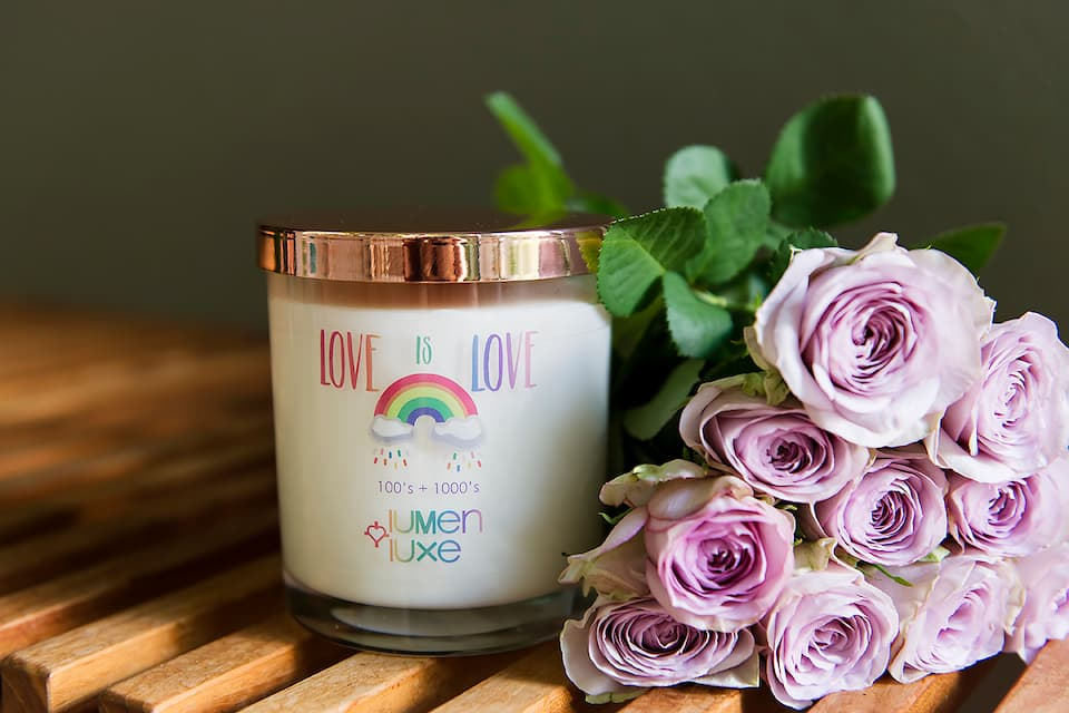 Love is Love - 100s + 1000s Candle