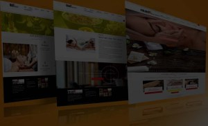 web design and web development header