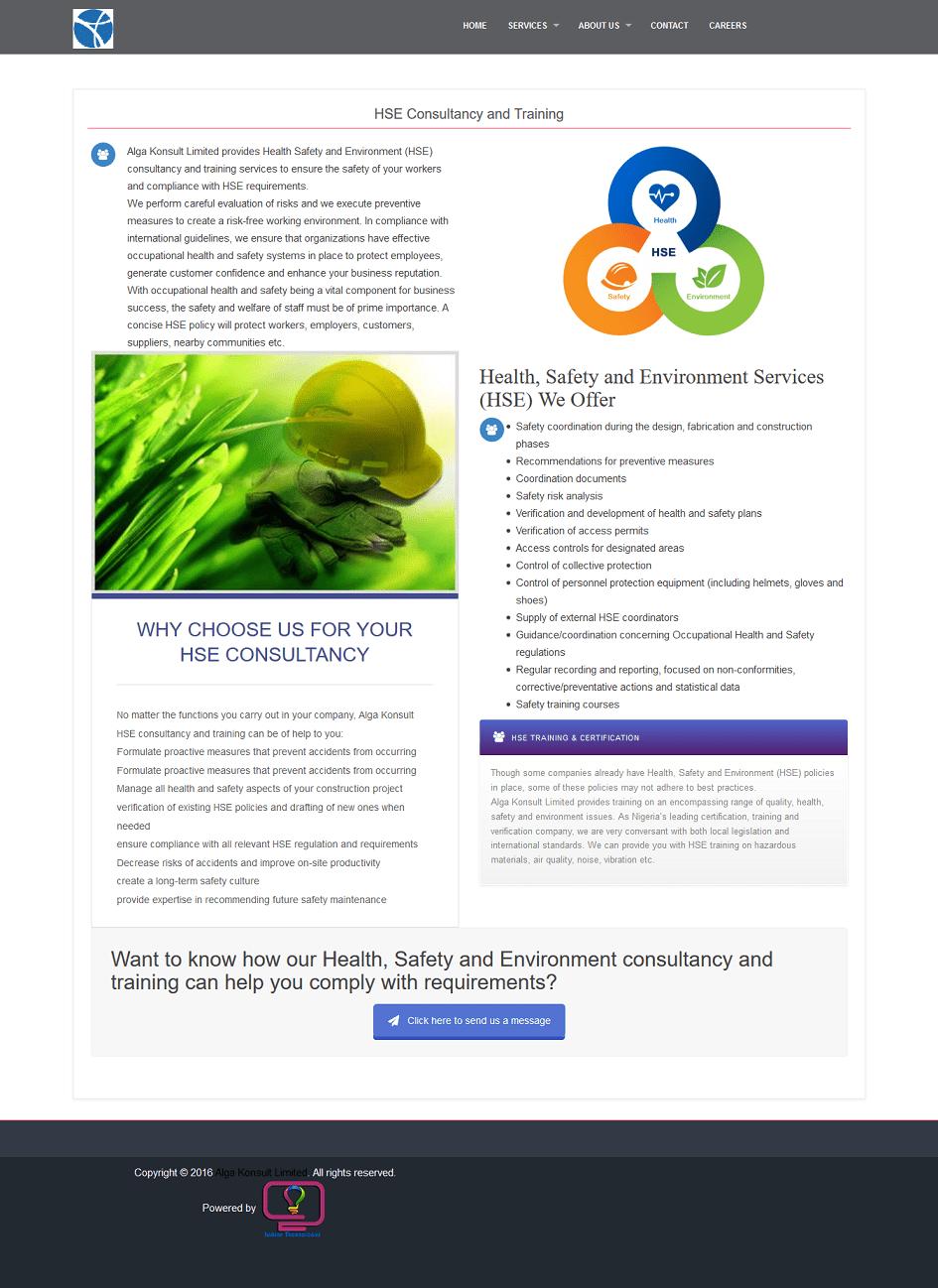 alga konsult web design 2
