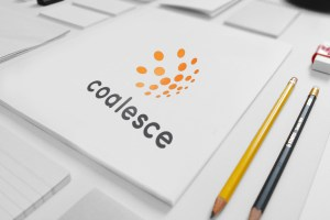 corporate branding project for Coalesce global ltd in owerri
