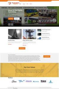 website design for Terotechnics