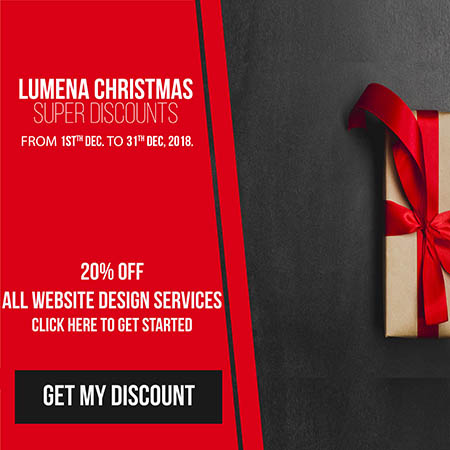 special web design agency chritstmas promo