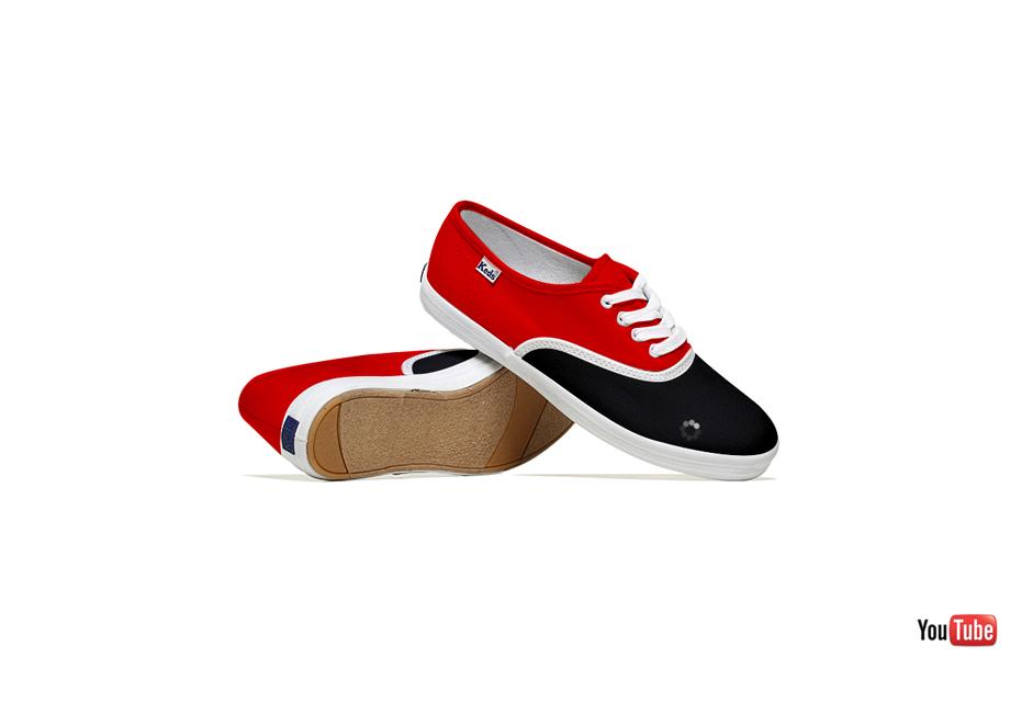 *Lumen Bigott設計的社群網站聯名鞋:Keds & Social Media 7