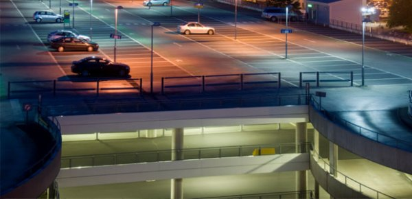 energy efficient parking garage lighting