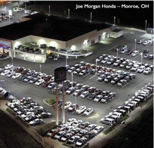 Car Dealer Lighting