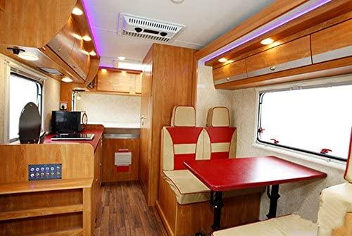 rv boat recessed ceiling light 4 pack super slim led panel light dc 12v 3w full aluminum downlights
