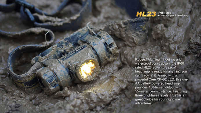 Image of Fenix HL23 taken from FenixLight.com