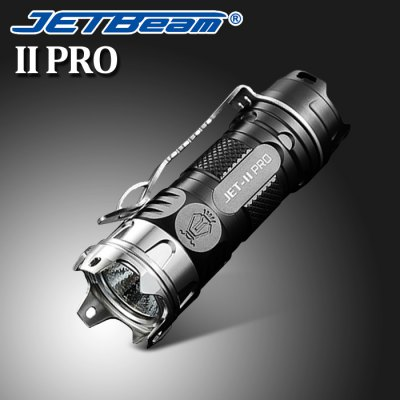 Flashlight Deals: JetBeam II PRO LED Flashlight (Black)