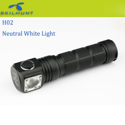 Flashlight Deals: Skilhunt H02 (820 Lumens, Neutral White)