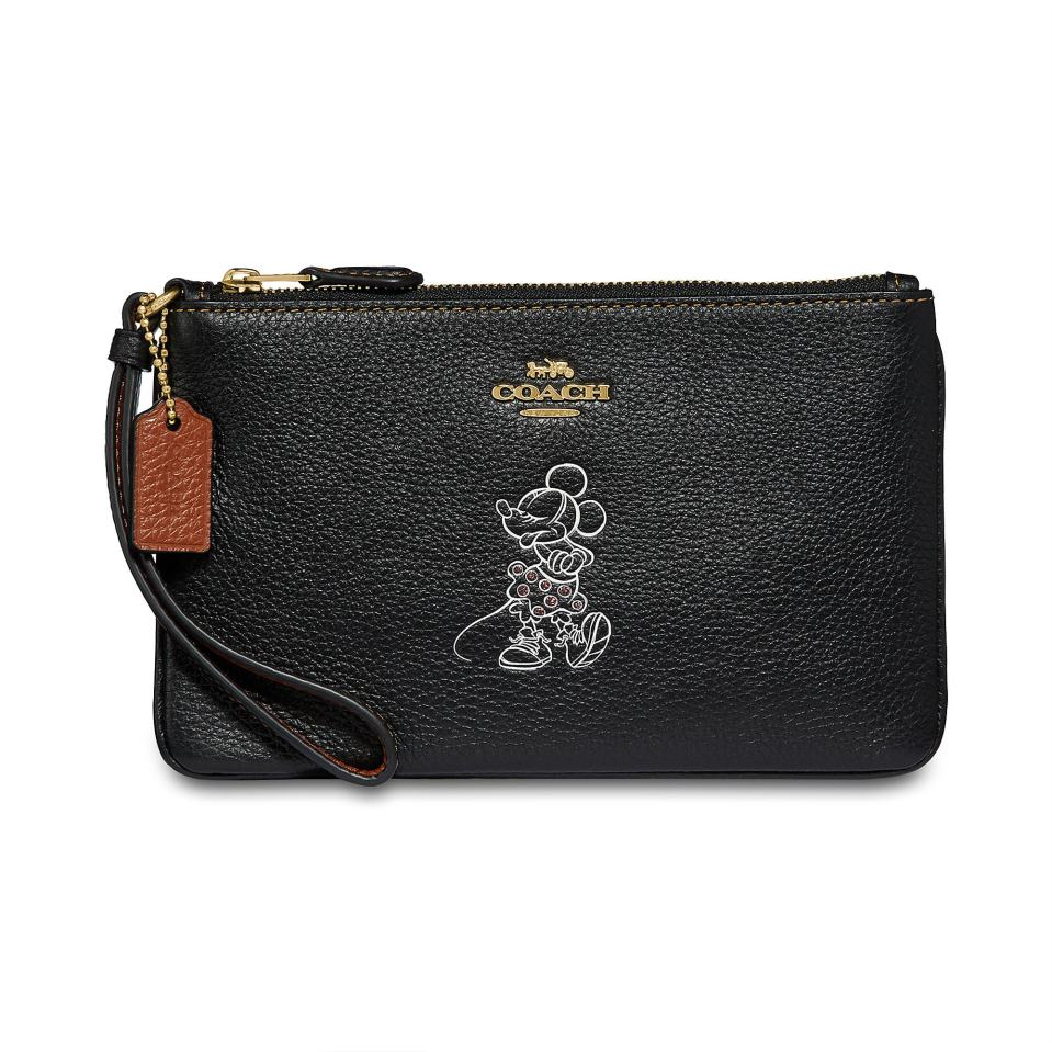 Product Image of Minnie Mouse Wristlet by COACH # 1